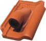 Ceramiczna przejściowa<br /> dachówka solarna (z uszczelką)<br /> średnica ok. 60 mm