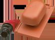 Ceramiczny komplet wentylacyjny PLANO