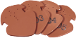 Płytka zakończeniowa /płytka z datą gąsiora nr 1 i nr 2